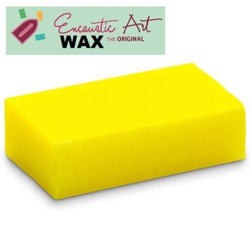 Encaustic WAX - Блокче цветен восък за Енкаустика № 39 NEON YELLOW