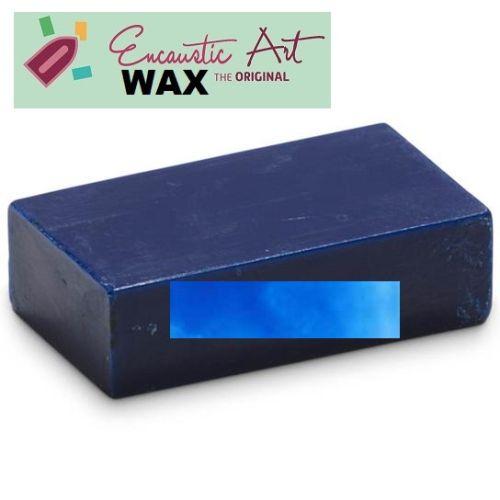 Encaustic WAX - Блокче цветен восък за Енкаустика № 41 NEON BLUE