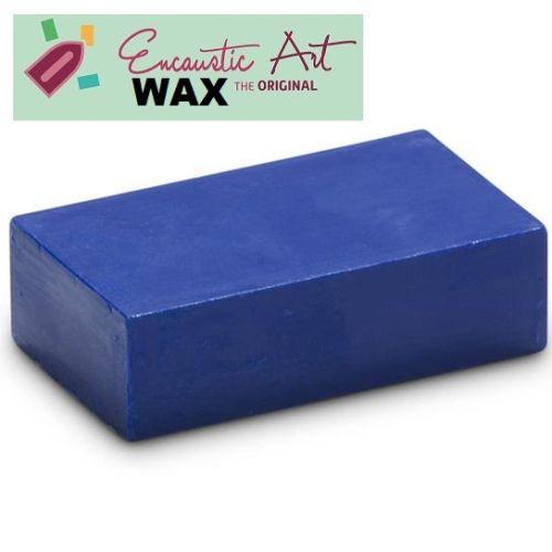 Encaustic WAX - Блокче цветен восък за Енкаустика № 19 Cobalt BLUE