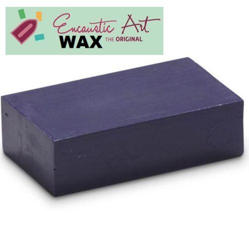 Encaustic WAX - Блокче цветен восък за Енкаустика № 11 BLUE VIOLET