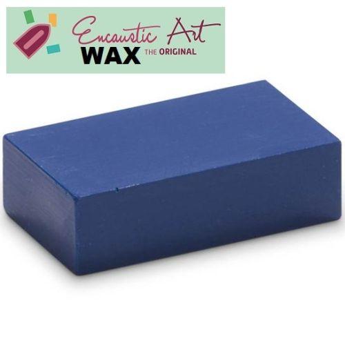 Encaustic WAX - Блокче цветен восък за Енкаустика № 9 BLUE