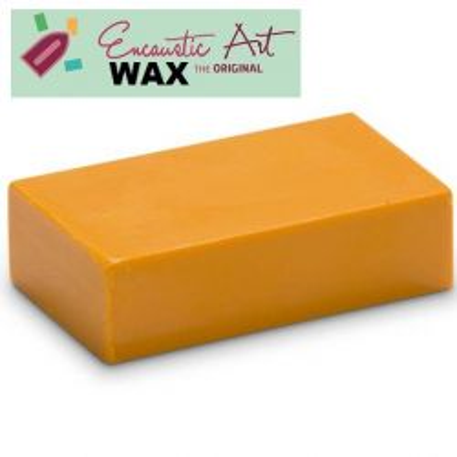 Encaustic WAX - Блокче цветен восък за Енкаустика № 4 GOLDEN YELLOW