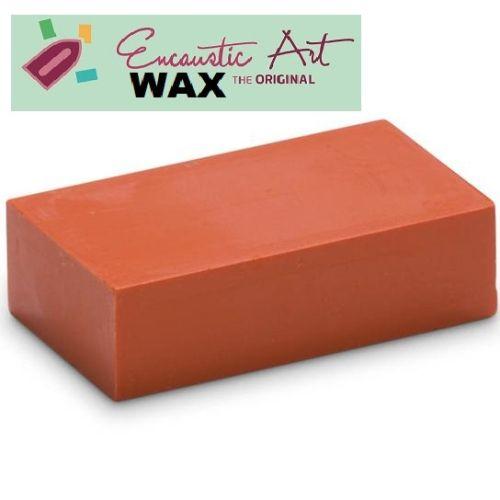 Encaustic WAX - Блокче цветен восък за Енкаустика № 3 ORANGE