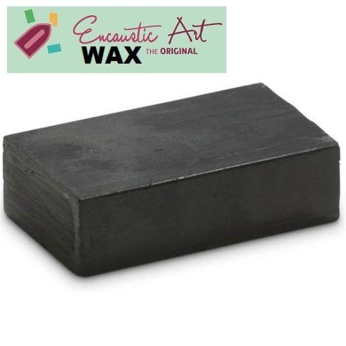Encaustic WAX - Блокче цветен восък за Енкаустика № 15 BLACK