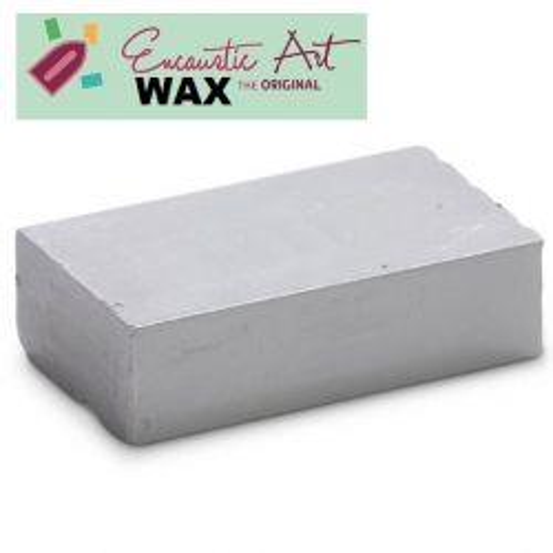 Encaustic WAX - Блокче цветен восък за Енкаустика № 17 GREY