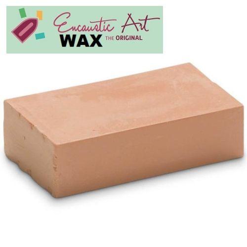 Encaustic WAX - Блокче цветен восък за Енкаустика № 34 PASTEL CORAL