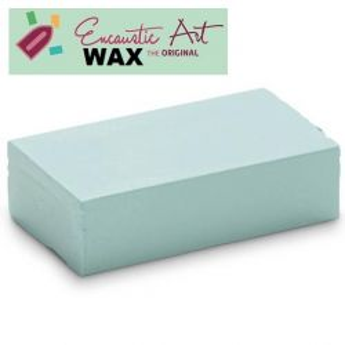 Encaustic WAX - Блокче цветен восък за Енкаустика № 31 PASTEL BLUE