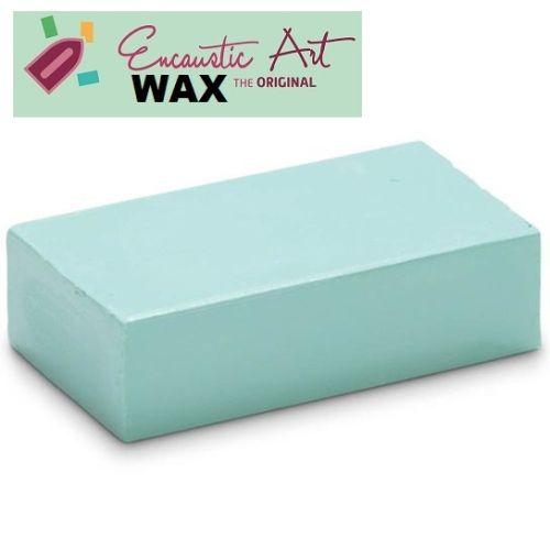 Encaustic WAX - Блокче цветен восък за Енкаустика № 33 PASTEL MINT