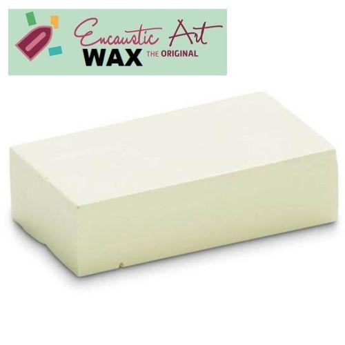 Encaustic WAX - Блокче цветен восък за Енкаустика № 35 PASTEL CREAM