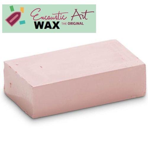 Encaustic WAX - Блокче цветен восък за Енкаустика № 24 PINK