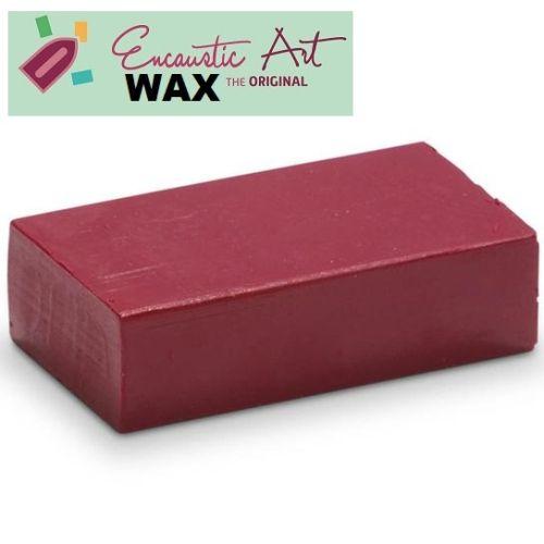 Encaustic WAX - Блокче цветен восък за Енкаустика № 1 CRIMSON / CARMINE