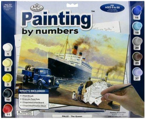 R&L,USA - Рисуване по номера А3- * PAL22