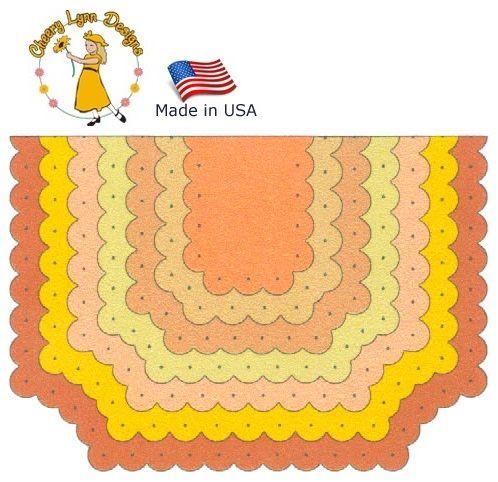 Cheery Lynn ,USA - К-кт шаблони за рязане и ембос / dl195