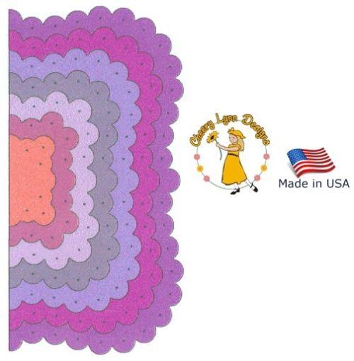 Cheery Lynn ,USA - К-кт шаблони за рязане и ембос / dl201