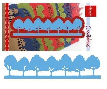 Marianne Design - Шаблон за рязане и ембос LR0355
