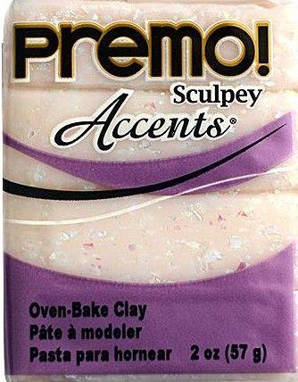 `PREMO Accents` USA - Професионална серия полимерна глина - Opal, 2oz