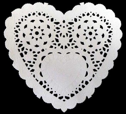 Paper Frames PD008 (12 pcs) 12,5 cm heart
