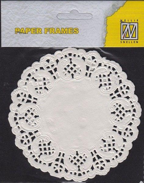 Paper Frames PD006 (12 pcs) 11,5 cm round