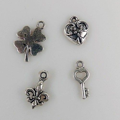 CHARM003 metal charms 8 pcs/pkg