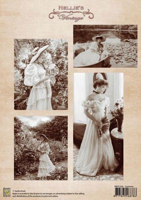 A4 DECOUPAGE Vintage  - АРТ декупажна хартия / 026