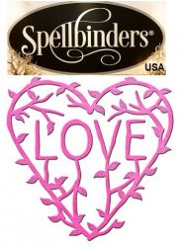 HEART by Spellbinders USA - щанца за изрязване и ембос in-009 - ОФЕРТА