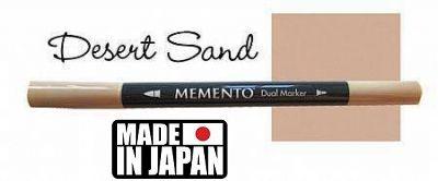 MEMENTO BRUSH MARKER , Japan - Двувърх маркер ЧЕТКА - DESERT SAND