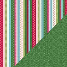 BAZZILL BP USA # HOLIDAY STYLE - Дизайнерски скрапбукинг картон 30,5 х 30,5 см.