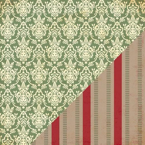 BAZZILL BP USA # BELIEVE - Дизайнерски скрапбукинг картон 30,5 х 30,5 см.