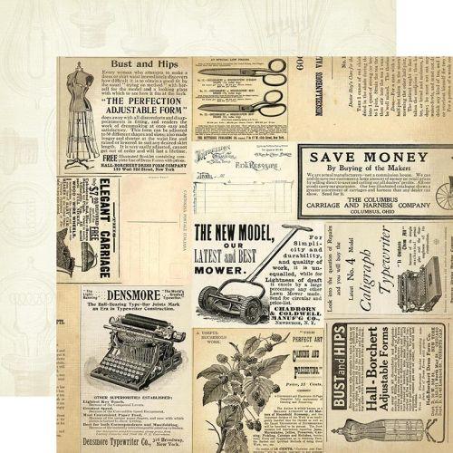 CARTA BELLA  USA  - Дизайнерски скрапбукинг картон 30,5 х 30,5 см.