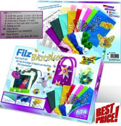 # FILZ CRAFT SET - Комплект за филц техника 674 части ,Germany