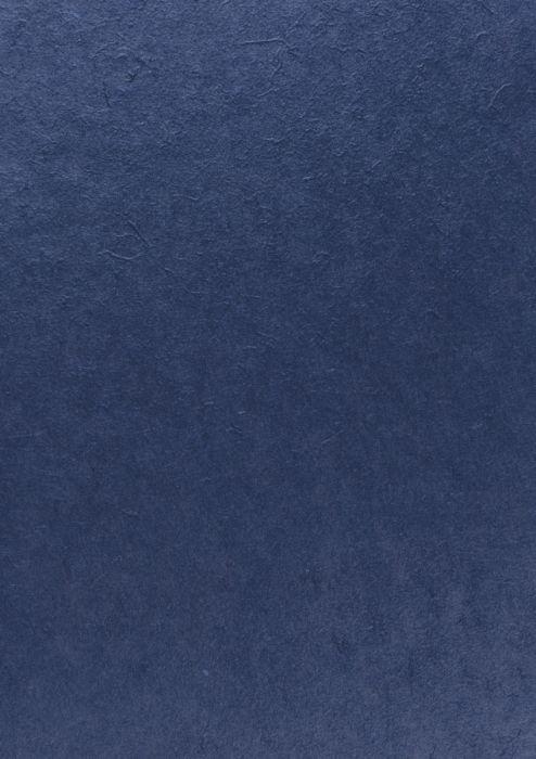 KOZO MULBERRY PAPER 55X40 - ЧЕРНИЧЕВА КОЗО ХАРТИЯ # DEEP BLUE 90-100г