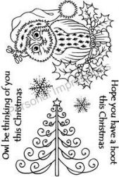 CHRISTMAS by ART Stamps -прозрачни печати А6 Made in England
