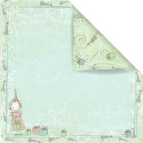 PRIMA USA # CELEBRATE! WITH JACK & JILL - Дизайнерска скрапбукинг хартия 30,5 х 30,5 см.