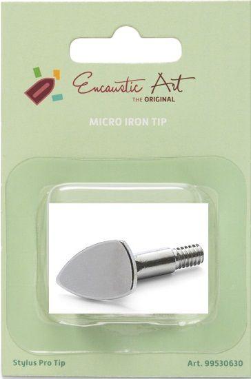 ENCAUSTIC Micro Iron Tip for Stylus - Накрайник за Арт Стило, Микро ютийка 1бр.