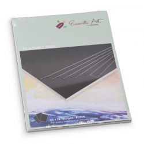 Encaustic Cards A4 / 24- Комплект картон за Енкаустика A4 / BLACK