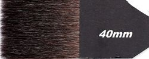TINTORETTO BLUE SQUIRELL 40мм - Профи  четка - косъм КАТЕРИЧКА за позлата