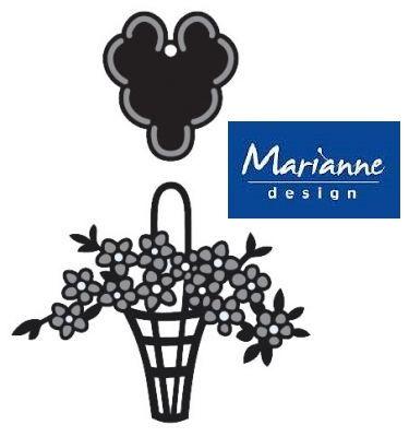 Marianne Design - Шаблон за рязане и ембос CR1209