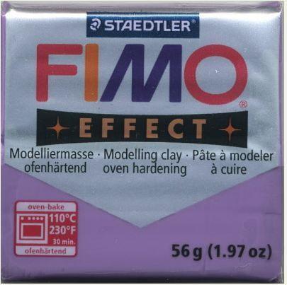 FIMO EFFECT - ПОЛИМЕРНА ГЛИНА Translucent Purple 604