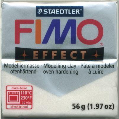 FIMO EFFECT - ПОЛИМЕРНА ГЛИНА Metallic Pearl  08