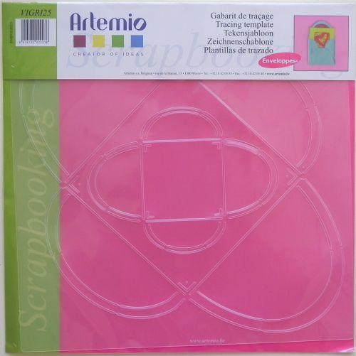 ARTEMIO, Envelopes - Шаблон за изработка на пликове два размера