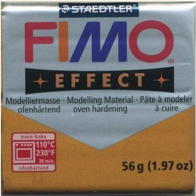 FIMO EFFECT - ПОЛИМЕРНА ГЛИНА Metallic Gold 11