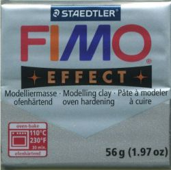FIMO EFFECT - ПОЛИМЕРНА ГЛИНА Metallic Silver 81