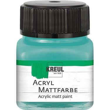 ACRYLIC MATT FARBE  20ML - Фин акрил и за маникюр TURQUOISE
