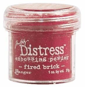 `Distress` Ембос Пудра  - Fired Brick