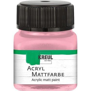 ACRYLIC MATT FARBE  20ML - Фин акрил и за маникюр PASTEL ROSE
