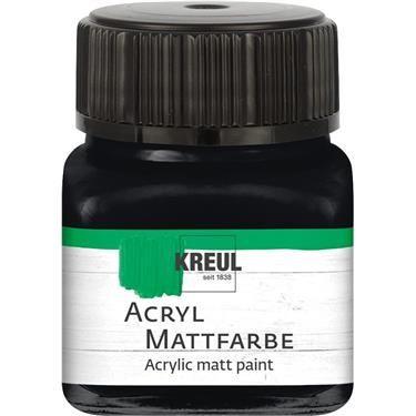 ACRYLIC MATT FARBE  20ML - Фин акрил и за маникюр ЧЕРЕН