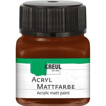 ACRYLIC MATT FARBE  20ML - Фин акрил и за маникюр - Шоколад