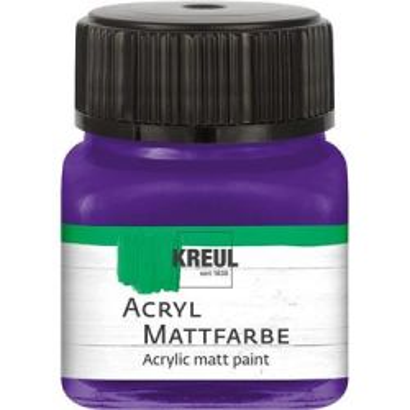ACRYLIC MATT FARBE  20ML - Фин акрил и за маникюр VIOLET