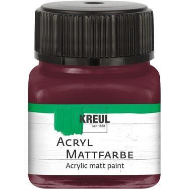 ACRYLIC MATT FARBE  20ML - Фин акрил и за маникюр UMBER