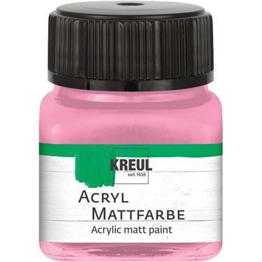 ACRYLIC MATT FARBE  20ML - Фин акрил и за маникюр ROSE